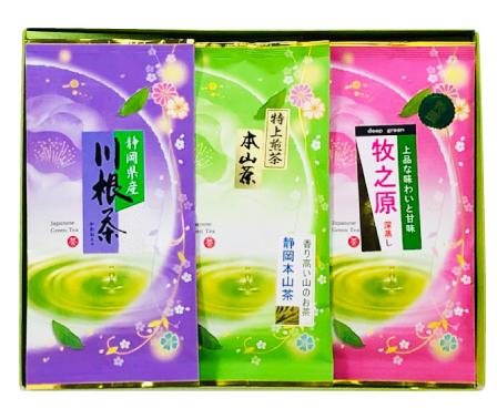 セレクト静岡茶3種セット