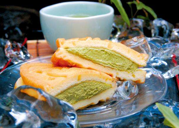 茶っふる(抹茶アイス)